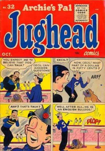 Jughead 32 - Bulldog - Barstools - Cecil - Crown - Long Nose