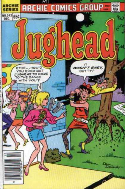 Jughead 343 - People Dancing - Ethel - Uprooted Tree - Betty - Party