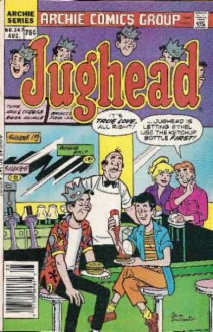 Jughead 347 - Archie - True Love - Shakes - First - Group