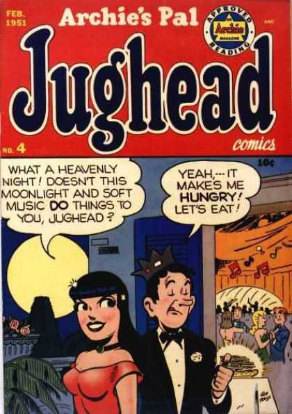 Jughead 4 - Pal - Archie - Feb - 1951 - No4