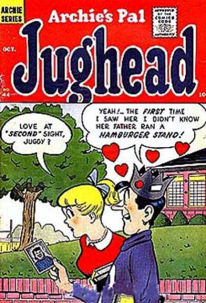 Jughead 44 - Archie - Betty - Love - Hamburger Stand - Friends - Stan Goldberg