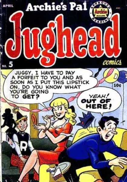 Jughead 5 - Lipstick - Betty - Run Away - Fleeing - Out Of Here