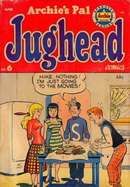 Jughead 6 - Archie - Betty - Veronica - Refrigerator - Sandwich