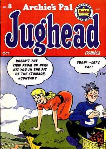 Jughead 8 - Picnic - Cliff - View - Sandwhich - Red Dress - Jon D'Agostino