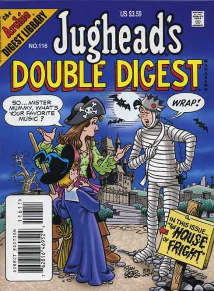 Jughead's Double Digest 116 - Jughead - Pirate Theme - House Of Fright - Halloween - Bats