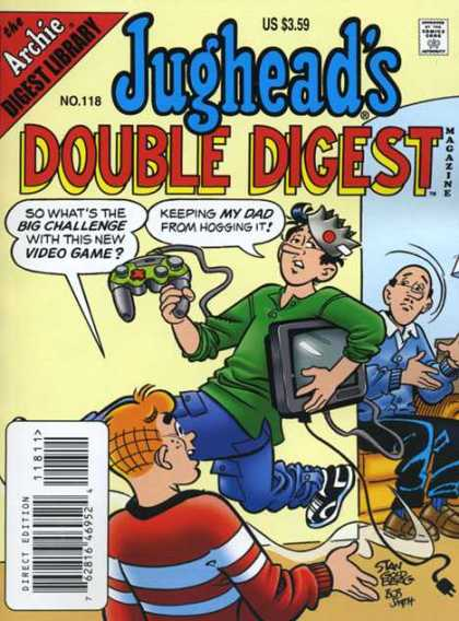 Jughead's Double Digest 118 - Video Games - Teenagers - Parents - Xbox - Television