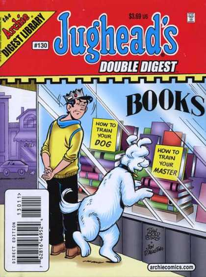 Jughead's Double Digest 130 - Jughead - Archie - Comic - Dog - Window