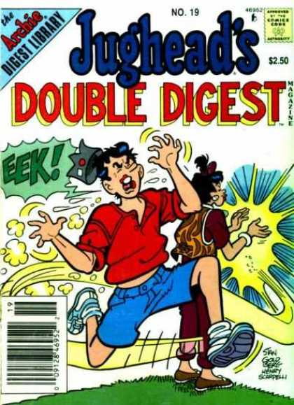 Jughead's Double Digest 19 - Archie - Archie Comics - Double Digest - Eek - Kiss