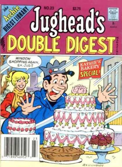 Jughead's Double Digest 23 - Betty - Cake - Tongue Out - Pies - Cupcakes