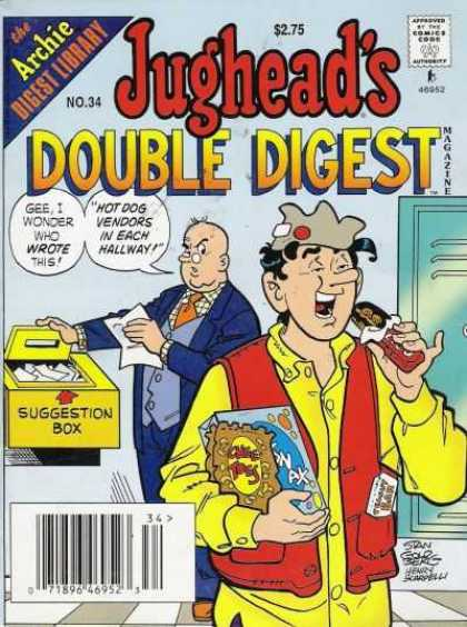 Jughead's Double Digest 34 - Jug Heads - Double Digest - Men - Chocolate - Books