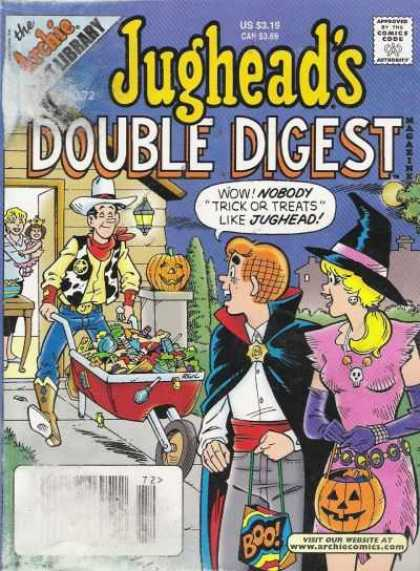 Jughead's Double Digest 72 - Archie - Approved By The Comics Code - Cowboy - Pumpkin - Woman