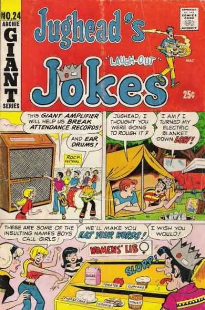 Jughead's Jokes 24 - Archie Giant Series - Crown - Camp - Girls - Boys