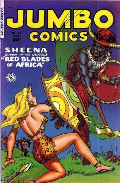 Jumbo Comics 152 - Sheena - Shield