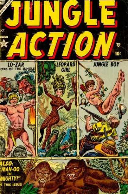 Jungle Action 1 - John Buscema