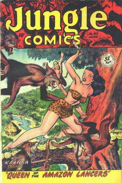 Jungle Comics 102
