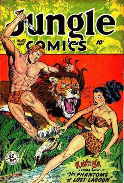 Jungle Comics 103