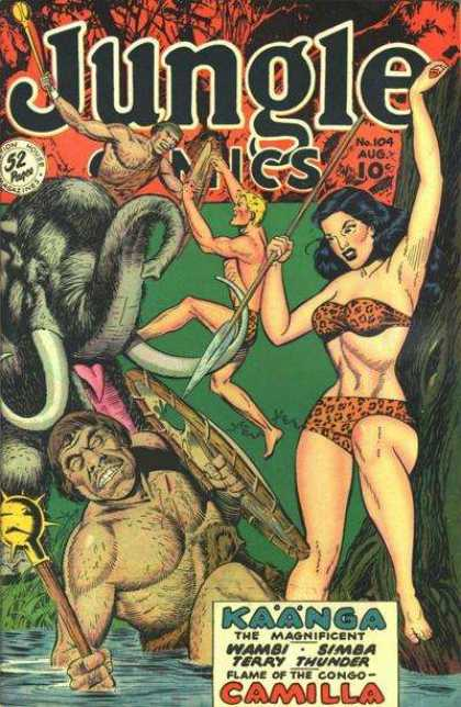 Jungle Comics 104