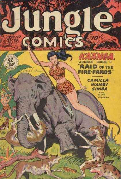 Jungle Comics 110