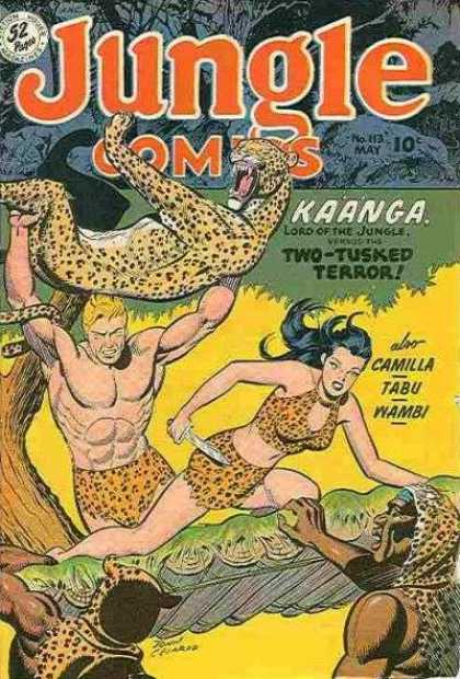 Jungle Comics 113 - Two-tusked Terror - Kaanga - Camilla - Tabu - Wambi