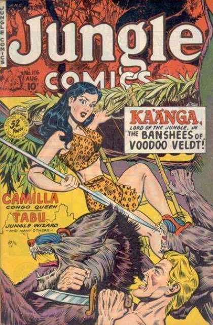 Jungle Comics 116