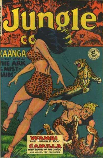 Jungle Comics 123
