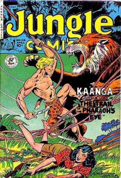 Jungle Comics 124