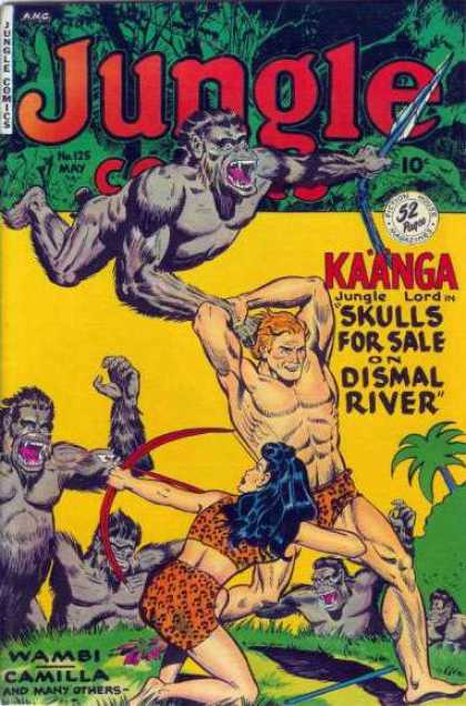 Jungle Comics 125 - Monkey - Kaanga - Woman - Arrow - Bow