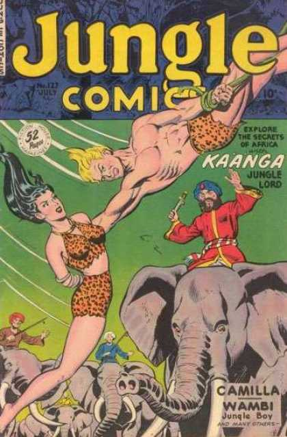 Jungle Comics 127
