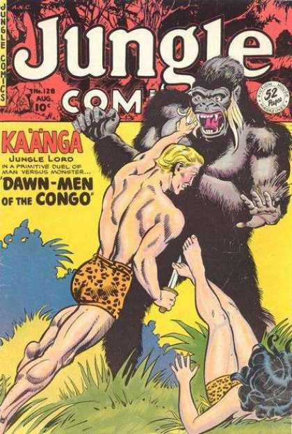Jungle Comics 128
