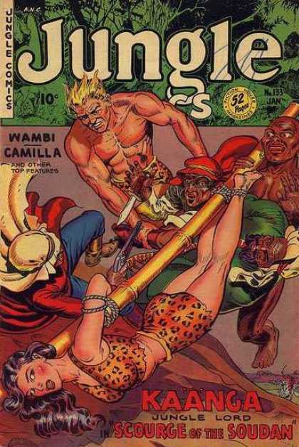 Jungle Comics 133 - Wambi - Camilla - Dagger - Kaanga Jungle Lord - Scourge Of The Soudan