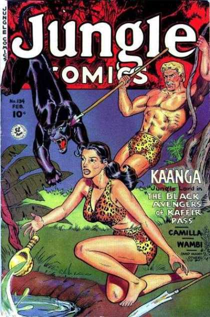 Jungle Comics 134