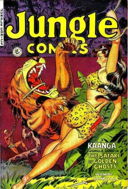 Jungle Comics 137