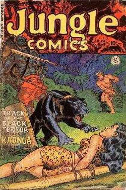 Jungle Comics 138