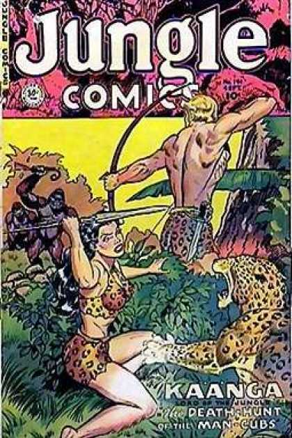 Jungle Comics 141