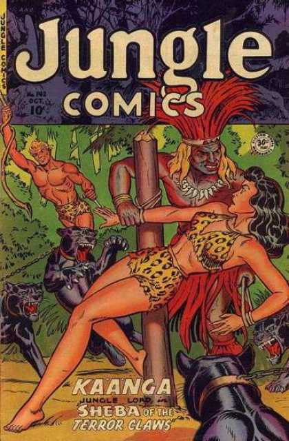 Jungle Comics 142