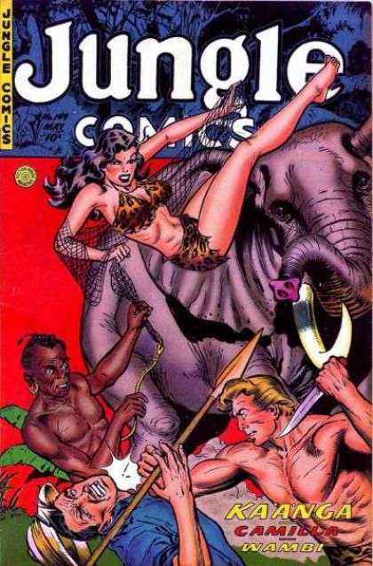 Jungle Comics 149