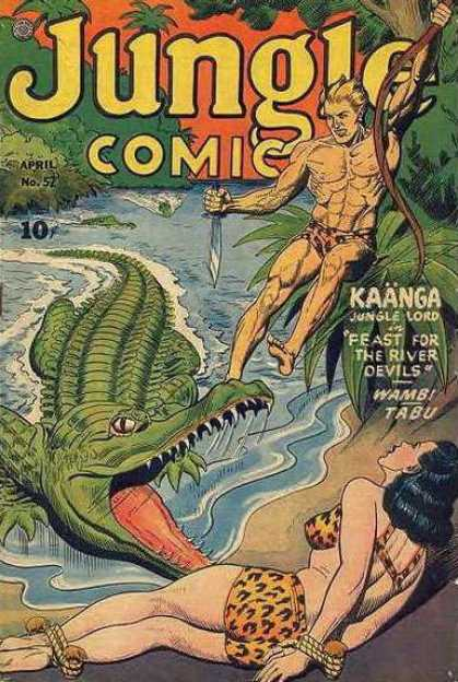 Jungle Comics 52