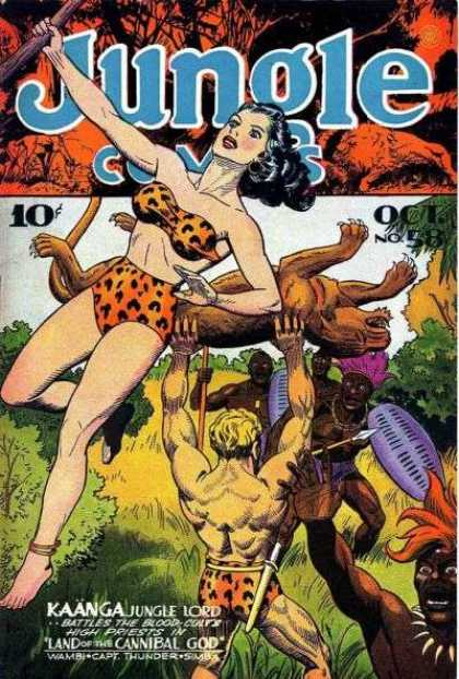 Jungle Comics 58