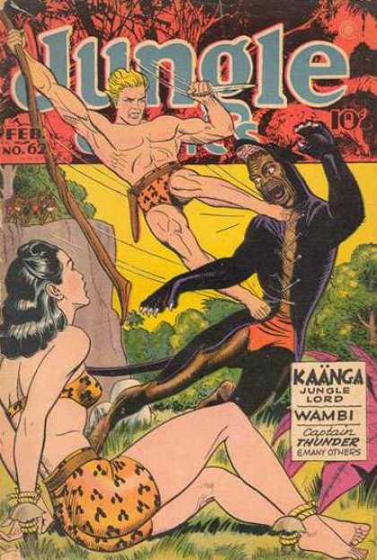 Jungle Comics 62 - Feb - No62 - Trees - Kaanga - Jungle Lord
