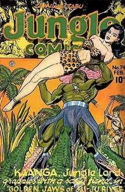 Jungle Comics 74