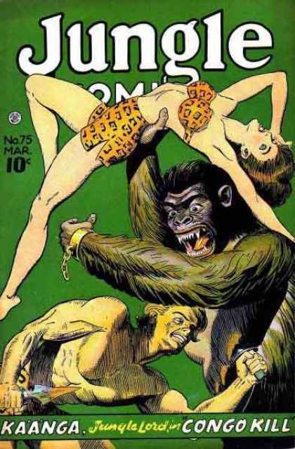 Jungle Comics 75