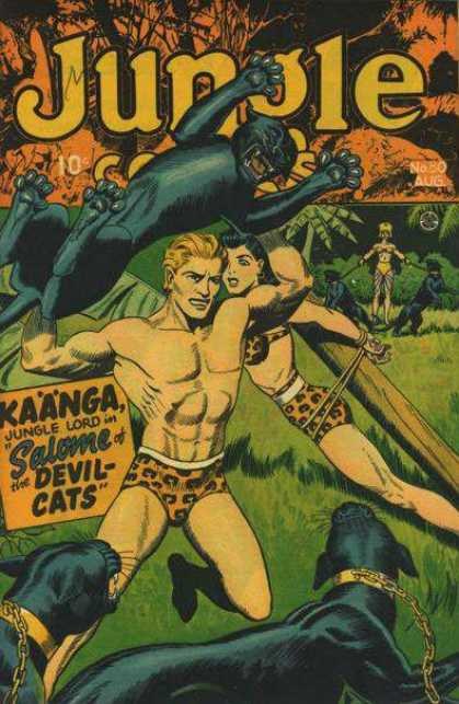 Jungle Comics 80