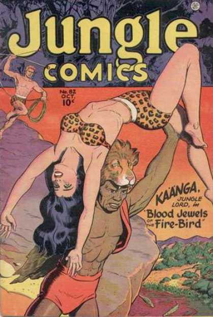 Jungle Comics 82
