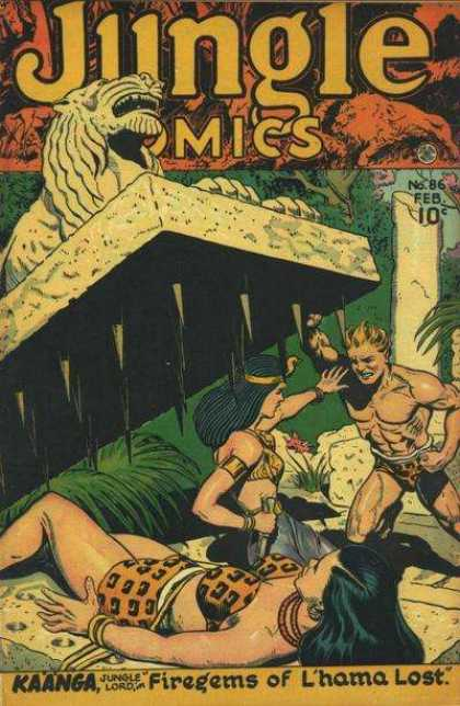 Jungle Comics 86