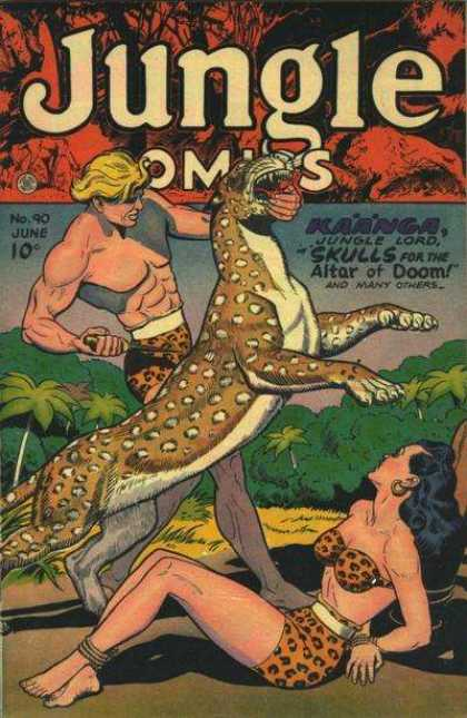 Jungle Comics 90