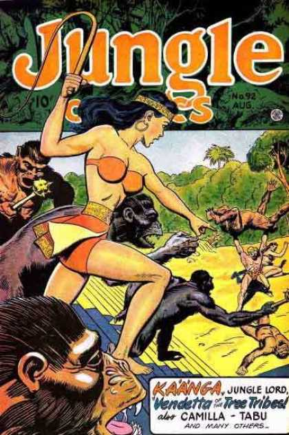 Jungle Comics 92 - Kaanga - Jungle Lord - Vendetta - Camilla - Monkeys