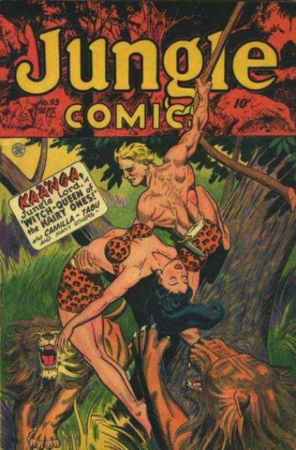 Jungle Comics 93