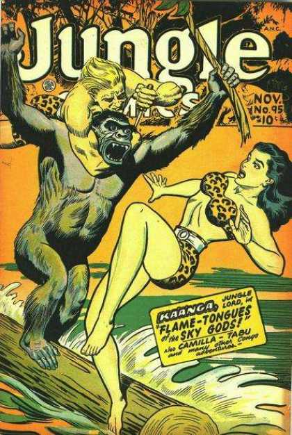 Jungle Comics 95