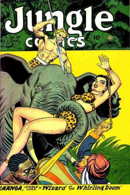 Jungle Comics 97