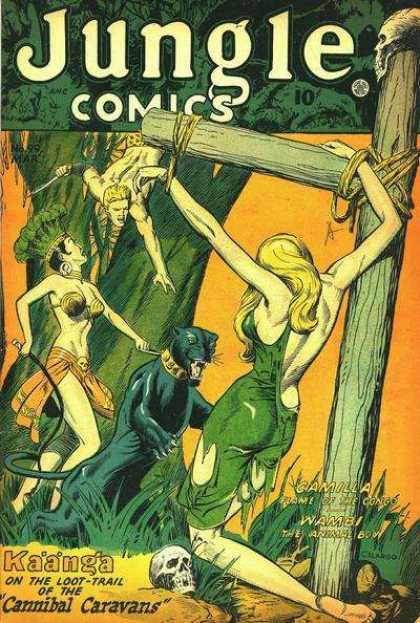 Jungle Comics 99